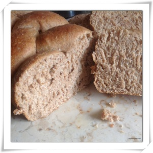 Whole Wheat Plait Bread