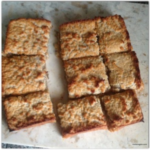 When cool cut into squares and enjoy.