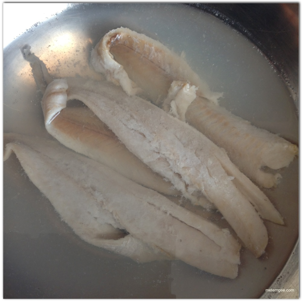 how to thaw fish overnight